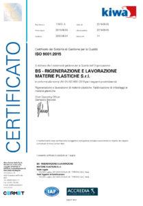 BS - RIGENERAZIONE E LAVORAZIONE MATERIE PLASTICHE_Certificato_01