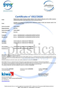 Certificato PSV BS 032 MPS RD